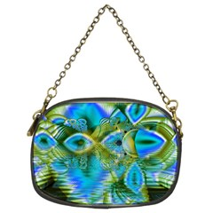 Mystical Spring, Abstract Crystal Renewal Chain Purse (Two Sided)