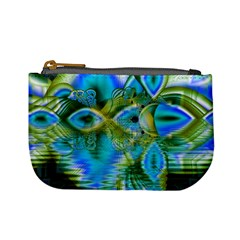 Mystical Spring, Abstract Crystal Renewal Coin Change Purse
