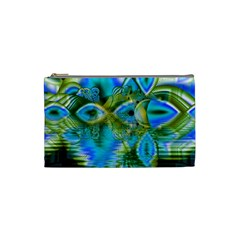 Mystical Spring, Abstract Crystal Renewal Cosmetic Bag (Small)
