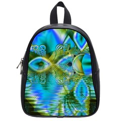 Mystical Spring, Abstract Crystal Renewal School Bag (Small)
