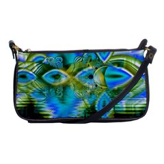 Mystical Spring, Abstract Crystal Renewal Evening Bag