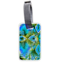 Mystical Spring, Abstract Crystal Renewal Luggage Tag (Two Sides)