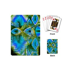Mystical Spring, Abstract Crystal Renewal Playing Cards (Mini)