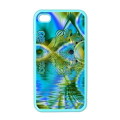 Mystical Spring, Abstract Crystal Renewal Apple iPhone 4 Case (Color)