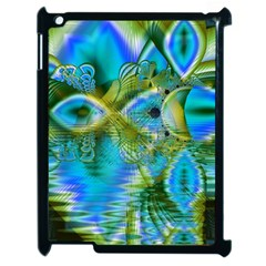 Mystical Spring, Abstract Crystal Renewal Apple iPad 2 Case (Black)