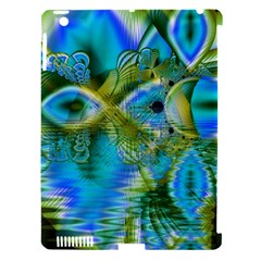 Mystical Spring, Abstract Crystal Renewal Apple iPad 3/4 Hardshell Case (Compatible with Smart Cover)