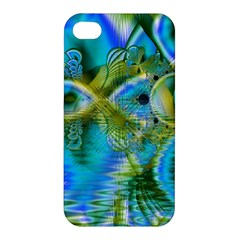 Mystical Spring, Abstract Crystal Renewal Apple iPhone 4/4S Premium Hardshell Case