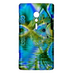 Mystical Spring, Abstract Crystal Renewal Sony Xperia ion Hardshell Case