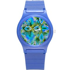 Mystical Spring, Abstract Crystal Renewal Plastic Sport Watch (Small)