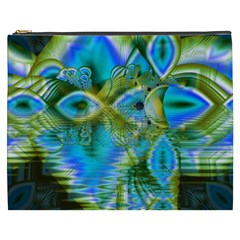 Mystical Spring, Abstract Crystal Renewal Cosmetic Bag (XXXL)
