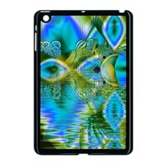 Mystical Spring, Abstract Crystal Renewal Apple iPad Mini Case (Black)