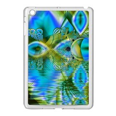 Mystical Spring, Abstract Crystal Renewal Apple iPad Mini Case (White)