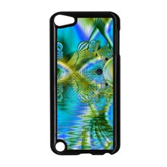Mystical Spring, Abstract Crystal Renewal Apple iPod Touch 5 Case (Black)