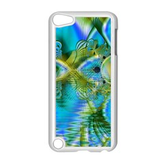 Mystical Spring, Abstract Crystal Renewal Apple iPod Touch 5 Case (White)