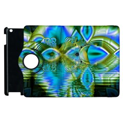 Mystical Spring, Abstract Crystal Renewal Apple iPad 3/4 Flip 360 Case