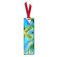 Mystical Spring, Abstract Crystal Renewal Small Bookmark