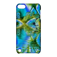 Mystical Spring, Abstract Crystal Renewal Apple iPod Touch 5 Hardshell Case with Stand