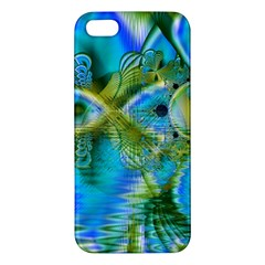 Mystical Spring, Abstract Crystal Renewal Apple iPhone 5 Premium Hardshell Case