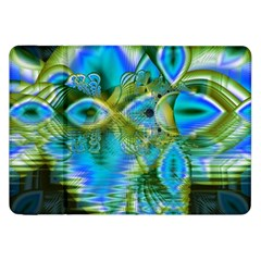 Mystical Spring, Abstract Crystal Renewal Samsung Galaxy Tab 8.9  P7300 Flip Case