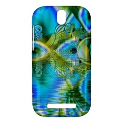 Mystical Spring, Abstract Crystal Renewal HTC One SV Hardshell Case