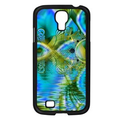 Mystical Spring, Abstract Crystal Renewal Samsung Galaxy S4 I9500/ I9505 Case (Black)