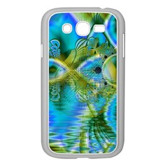 Mystical Spring, Abstract Crystal Renewal Samsung Galaxy Grand DUOS I9082 Case (White)