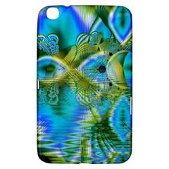 Mystical Spring, Abstract Crystal Renewal Samsung Galaxy Tab 3 (8 ) T3100 Hardshell Case