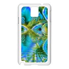 Mystical Spring, Abstract Crystal Renewal Samsung Galaxy Note 3 N9005 Case (White)