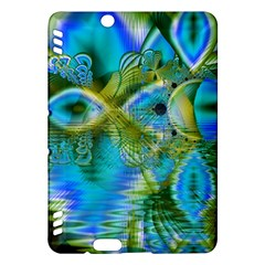 Mystical Spring, Abstract Crystal Renewal Kindle Fire HDX 7  Hardshell Case