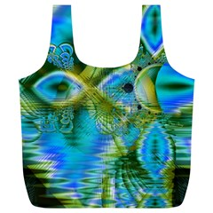 Mystical Spring, Abstract Crystal Renewal Reusable Bag (XL)