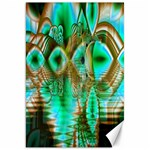Spring Leaves, Abstract Crystal Flower Garden Canvas 20  x 30  (Unframed) 30 x20 Canvas - 1