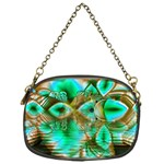 Spring Leaves, Abstract Crystal Flower Garden Chain Purse (One Side) Front