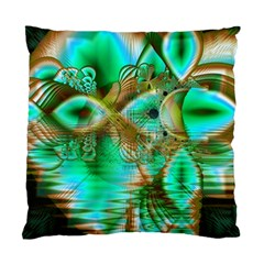 Spring Leaves, Abstract Crystal Flower Garden Cushion Case (single Sided)