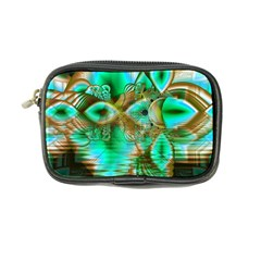 Spring Leaves, Abstract Crystal Flower Garden Coin Purse