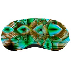 Spring Leaves, Abstract Crystal Flower Garden Sleeping Mask
