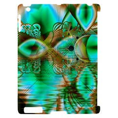 Spring Leaves, Abstract Crystal Flower Garden Apple iPad 2 Hardshell Case (Compatible with Smart Cover)