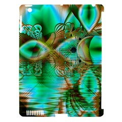 Spring Leaves, Abstract Crystal Flower Garden Apple iPad 3/4 Hardshell Case (Compatible with Smart Cover)