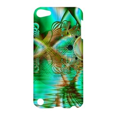 Spring Leaves, Abstract Crystal Flower Garden Apple iPod Touch 5 Hardshell Case