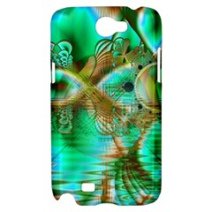 Spring Leaves, Abstract Crystal Flower Garden Samsung Galaxy Note 2 Hardshell Case