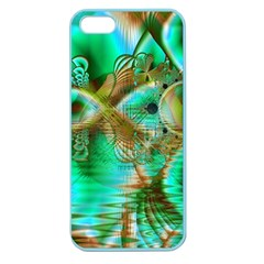Spring Leaves, Abstract Crystal Flower Garden Apple Seamless Iphone 5 Case (color)