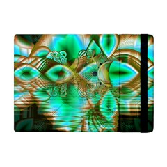 Spring Leaves, Abstract Crystal Flower Garden Apple iPad Mini Flip Case