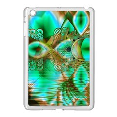 Spring Leaves, Abstract Crystal Flower Garden Apple Ipad Mini Case (white)