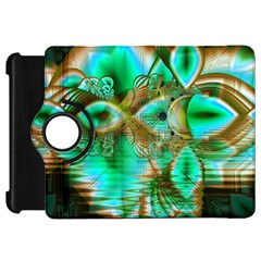 Spring Leaves, Abstract Crystal Flower Garden Kindle Fire HD 7  (1st Gen) Flip 360 Case