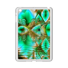 Spring Leaves, Abstract Crystal Flower Garden Apple iPad Mini 2 Case (White)