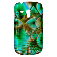 Spring Leaves, Abstract Crystal Flower Garden Samsung Galaxy S3 Mini I8190 Hardshell Case
