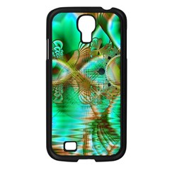 Spring Leaves, Abstract Crystal Flower Garden Samsung Galaxy S4 I9500/ I9505 Case (Black)