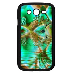 Spring Leaves, Abstract Crystal Flower Garden Samsung Galaxy Grand DUOS I9082 Case (Black)