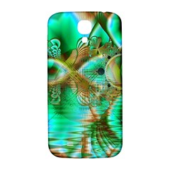 Spring Leaves, Abstract Crystal Flower Garden Samsung Galaxy S4 I9500/i9505  Hardshell Back Case