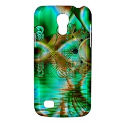 Spring Leaves, Abstract Crystal Flower Garden Samsung Galaxy S4 Mini (gt I9190) Hardshell Case