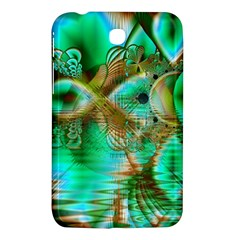 Spring Leaves, Abstract Crystal Flower Garden Samsung Galaxy Tab 3 (7 ) P3200 Hardshell Case